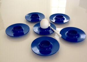 Vintage Rosti Mepal Egg Cups Set of 6