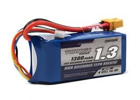 2 x Turnigy 4S Lipo Batteries 1300 mah RC Brand New