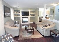 Beautiful 4bdrm home *North* Finished basement