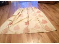 Pair Laura Ashley Lined Curtains