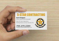 General Contractor Offering Quality Workmanship