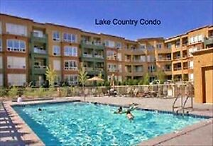 Fully furnished LAKE COUNTRY Condo