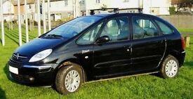 Citroen Xsara Picasso Desire 1.6 HDi Diesel. Only 46,000 miles