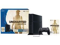 BNIB PS4 Console with Drakes collection