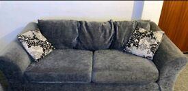 Grey Sofa -
