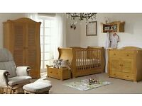 Tutti bambini Marie 5 piece nursery furniture set