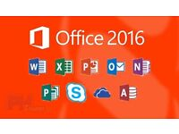 OFFICE 2016 - HOME STUDENT PROFESSIONAL- VISIO PROJECT WORD EXCEL ETC