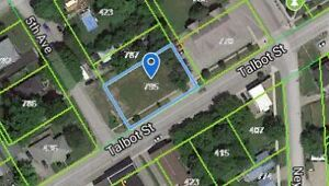 Check out this large and level building lot in Port McNicoll!