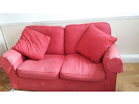 Two x 2-seater sofas