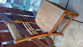 2 x Bobbin Backed chairs.