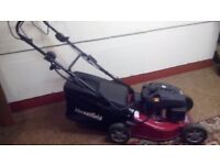 MOUNTFIELD S461 R POLES PD/ES 46cm LAWNMOWER PLUS A HEDGE TRIMMER & A GRASS TRIMMER FOR £260..