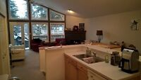 Fully furnished downtown Canmore townhouse