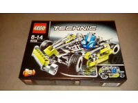 Lego Technic Go-Kart/Lawnmower Kit 8256, Rare Item Brand New In Sealed Box