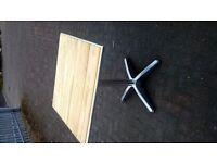 indoor/outdoor bistro table