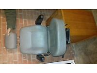 leather captain seat £40