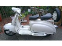 lambretta series 2 1970 150cc tax and M o T. exempt been stored for years phone for details