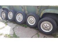 Jaguar series 3 alloy wheels