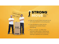 Removals & Man and Van by Strong Move -- 7 Days A Week -- Best Prices In London!