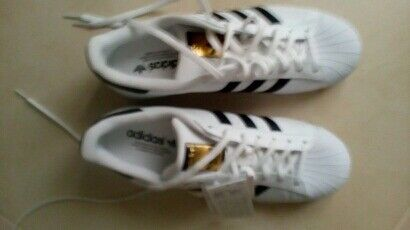 Adidas Superstars size 9.5 Brand New with tags
