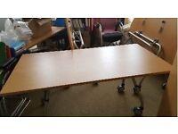 Folding Meeting Room Table x 2