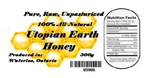 All natural, Pure, Raw, Unpasteurized, honey