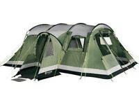 Outwell Montana 6 Tent , Awning and Carpet. Six berth tent. Used 3 Times, Fantastic condition