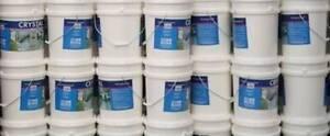 WHITE PAINT 300 LITRES MATT FINISH NEW WATER BASED Underwood Logan Area Preview
