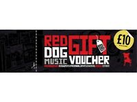 £80 of Red Dog Music Vouchers