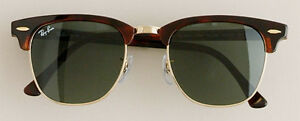 Ray Ban Clubmasters - Perfect Condition, Tortoise/Gold/Black