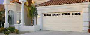 16x7 Steel Sectional Garage Door, Installed