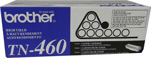 Brother TN460 Black Toner Cartridge, High Yield- New in BOX