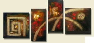 XD4-004-Hand made (not printed) Oil painting ,Abstract Art.