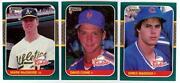 1987 Donruss Rookies Set