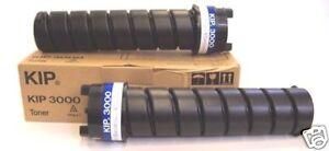 KIP SUP3000-103 | Genuine KIP 3000 | Black Toner 2PK