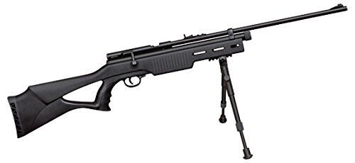 Co2 Powered Bolt Action .22 Caliber Air Rifle w/ Open Sights & Picatinny Rail