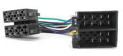FIAT COUPE PUNTO SEICENTO CD RADIO STEREO HEADUNIT ISO WIRING HARNESS PC2-36-4