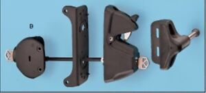 Two Deluxe Lockable Gate Latch