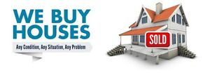 We Will Buy Your House Now!