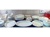 Wedgewood dinner service set. Over 60 pieces