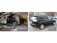 Martin's autobody-repairs cheap repairs Mobile service