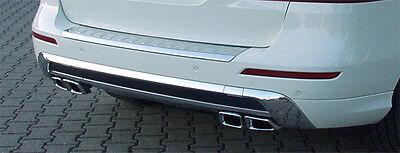 Mercedes Benz ML W166  Sport Endrohr mit Heckblende ML 63 Look Sportauspuff VIII