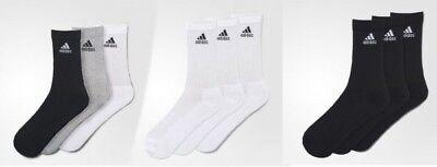 - Crew-socken (Adidas Herren Damen Trainings 3S Performance Sport Short Crew Socken 3er Pack )