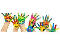 Childcarer for school holidays and school pick up