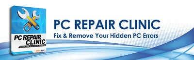 Pc Repair Clinic Fix Pc Error, Dll, Active X, Registry Cl...