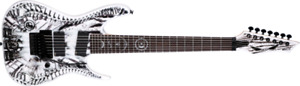 Rusty Cooley 7 string RC7X Wraith + Hardcase