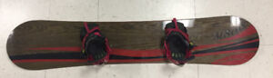150cm New M8trix snowboard with new Ride bindings combo