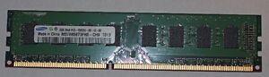 """2GB 240-Pin DDR3 SDRAM DDR3 1333 (PC3 10600)"""""""