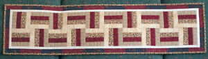 Barn Board Quilted Table Runner