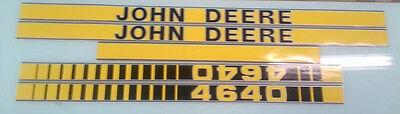 John Deere 4640 Hood Decals