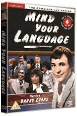 MIND YOUR LANGUAGE complete series. Four discs (Barry Evans). Brand new DVD.